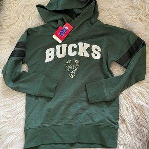 Bucks Pullover Hoodie Sz M 7/8